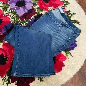 Torrid Distress Slim Bootcut Short Plus Size Jeans